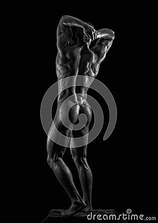 Modelo masculino desnudo pic