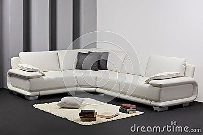 Una sala de estar minimalista moderna con muebles foto de Muebles de sala nahuizalco