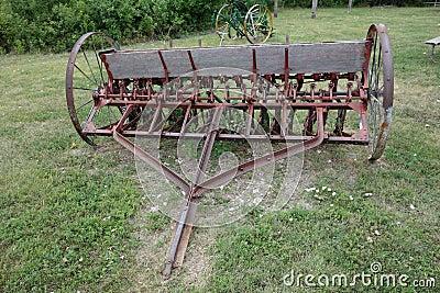 Old Fashioned Corn Planter