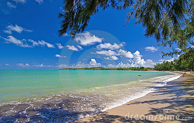 Una spiaggia dei sette mari, Porto Rico