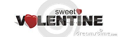 Una tarjeta del día de San Valentín muy dulce