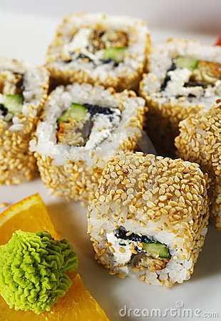Unagi Maki Sushi