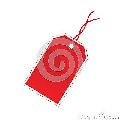 Unbelegte Geschenkmarke