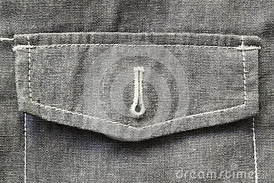 Unbuttoned pocket fragment