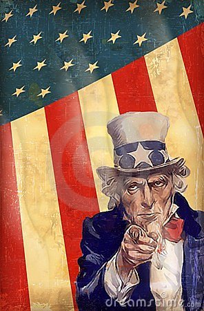 Uncle Sam Editorial Stock Photo