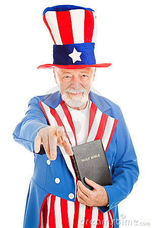 Uncle Sam - Church and State