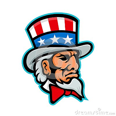 Free Uncle Sam Mascot Royalty Free Stock Images - 116134539