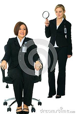 Uncomfortable Employee Under Investigation