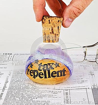 Uncorking tax repellent