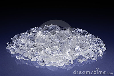 Uncut diamonds or crystals