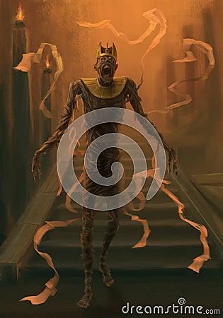 Undead mummy