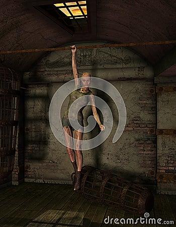 Undead woman