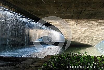 Under the bridge in Esfahan