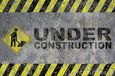 Royalty Free Stock Photo: Under construction. Image: 10406285
