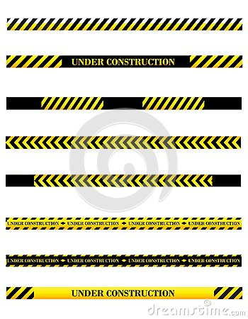 Under construction dividers