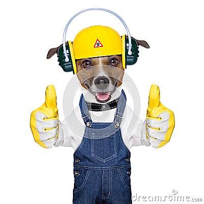 Under Construction Dog Royalty Free Stock Photo - Image ...