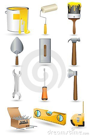 Under Construction icon Set