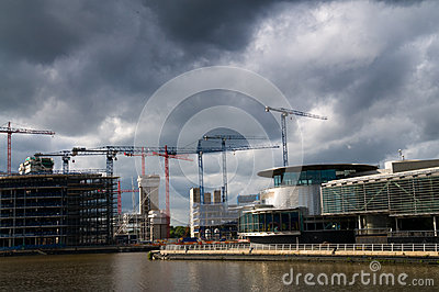 Under construction salford quays