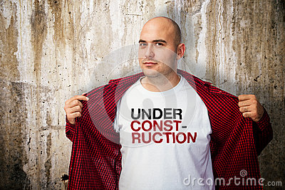 Under construction shirt