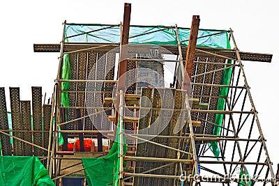 Under construction site.