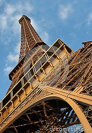 Under Eiffel Tower