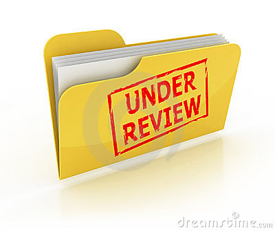 Under review folder icon