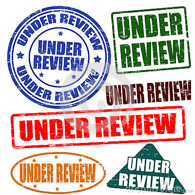 Under review,stamp set