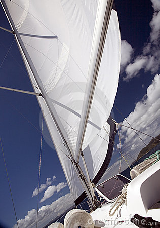 Free Under Sail Royalty Free Stock Images - 4499139