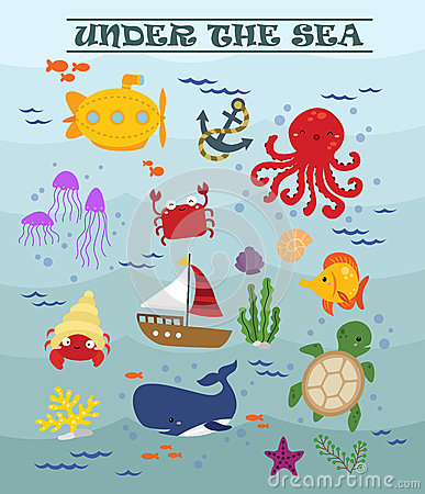 Free Under The Sea Stock Photos - 48692243