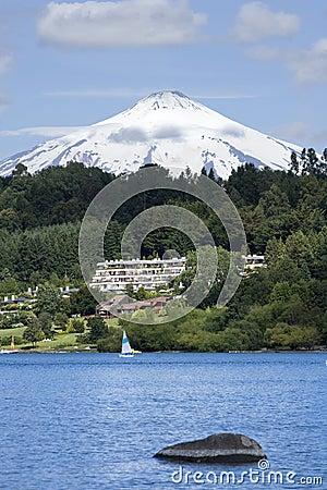 Under Villarrica volcano