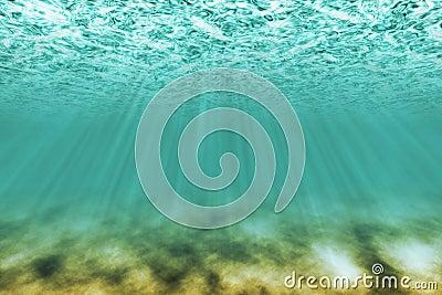 Under water scene