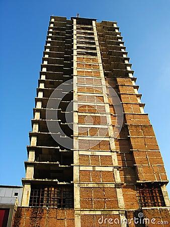 Underconstruction building
