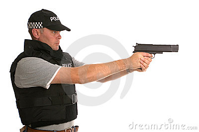Undercover armed Police