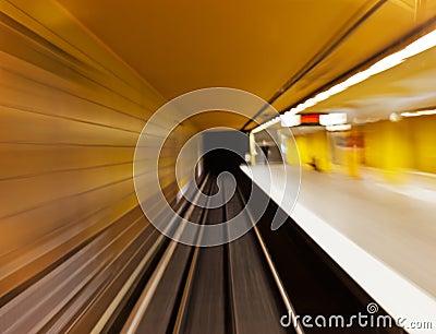 Underground (blurred)
