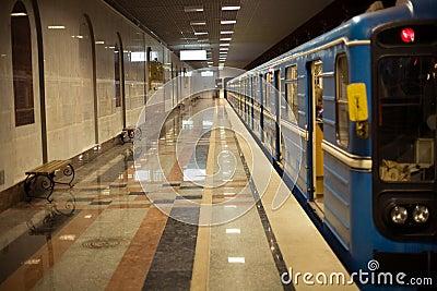 The underground car