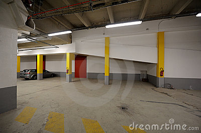 Underground car parking