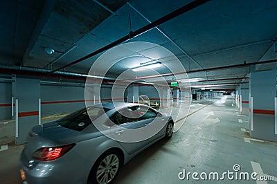 Underground car parking movement