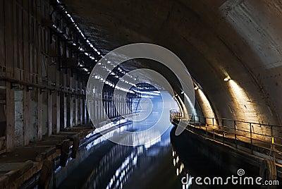 Underground dock