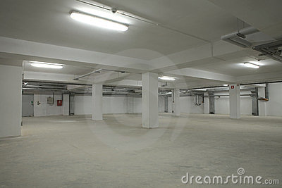 Underground empty parking