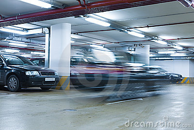 Underground garage