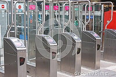 Underground Metro Tollgate