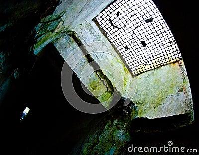 Underground military catacombs