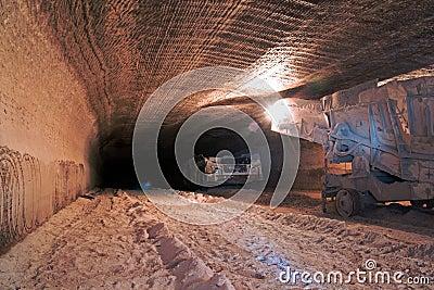 Underground mine drive