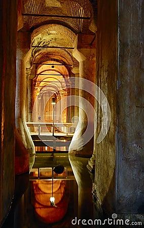 The underground reservoir