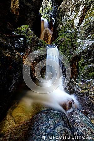 Underground river from Cetatile Ponorului cave