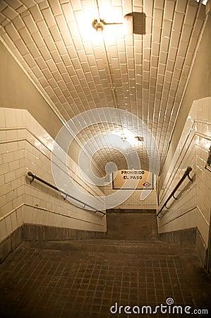 Underground upstairs