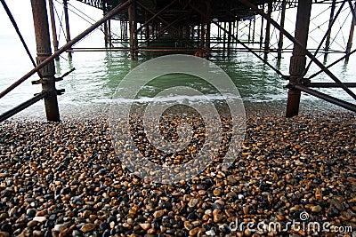 Structure Underneath Brighton Pier