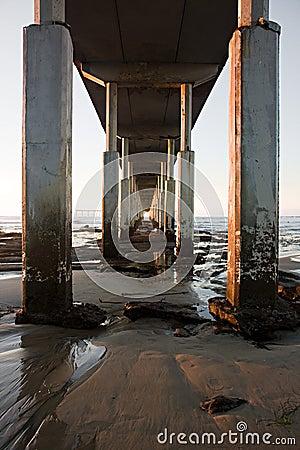 Underneath Pier
