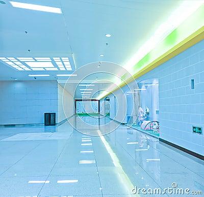 Underpass corridor
