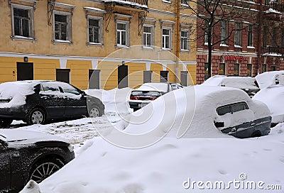 Unders Snow Editorial Image